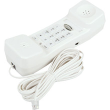 Aegis H2001 Single Line White Telephone