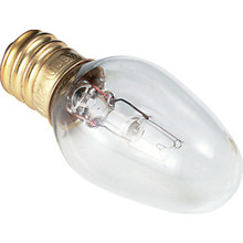 C7 Bulb Philips 7W Candelabra Base Clear 24pk
