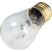 S14 Bulb Value Light 11W Clear 130V 24pk