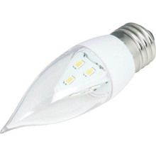 LED Bulb Feit 2W Flame (25W Equivalent) 3000K Clear