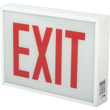 Sure Lites LED Exit Sign 20-Gauge Steel Chicago Approved