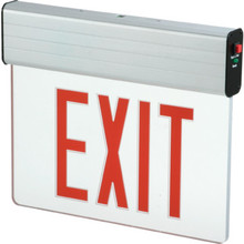 Sure Lites LED Edge-Lit Exit Sign Red