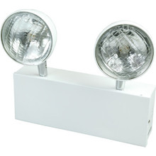 Sure Lites wo-Light Emergency Fixture Chicago Approved