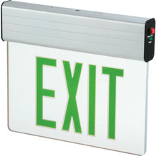 Sure Lites LED Edge-Lit Exit Sign Green
