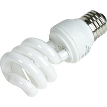 Integrated Compact Fluorescent Bulb 23W 2700K Twist Coated