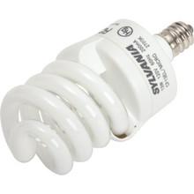 Integrated Compact Fluorescent Bulb Sylvania 5W 2700K Twist Candelabra Base
