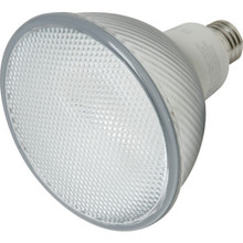 Integrated Compact Fluorescent Bulb TCP 23W 2700K PAR38 Flat Face