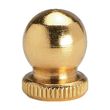 Burnished Brass Finial Ball Pack of 10