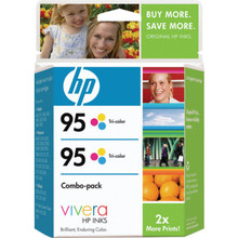 "HP 95 Tricolor Inkjet Crtdges ""Pkg Of 2"""