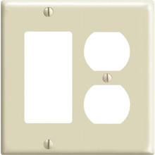 Duplex And Decora Wall Plate - Ivory - Package Of 25