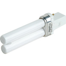 Compact Fluorescent Bulb Philips 5W Twin 4100K 2-Pin Base