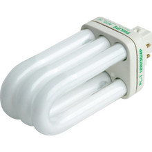 Compact Fluorescent Bulb Philips 18W Triple 3500K 4-Pin Base