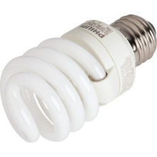 Integrated Compact Fluorescent Bulb Philips 13W 3500K T2 Twist
