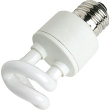Integrated Compact Fluorescent Bulb Philips 5W 2700K Twist