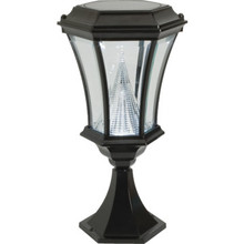 Exterior LED Pier Mount Fixture Black