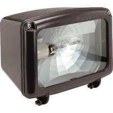 150 Watt High Pressure Sodium Bronze Flood Light With Tempered Glass Lens