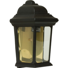 BLACK CAST ALUMINUM PORCH LANTERN