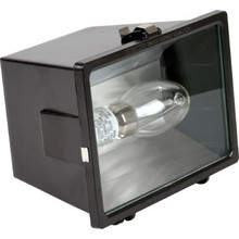 150 Watt High Pressure Sodium Bronze Flood Light Impact Resistant Tempered Glass