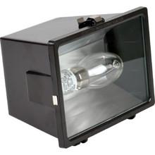 150 Watt High Pressure Sodium Bronze Flood Light Impact Resistant Tempered Glass