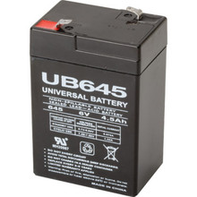 6V 4.5Ah Lead Acid Emergency Battery