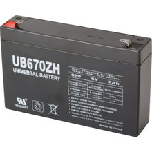 6V 7Ah Lead Acid Emergency Battery