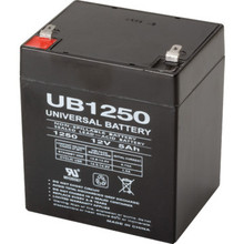 12V 5.0 Ah Lead Acid Emergency Battery