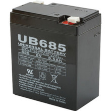 6V 9Ah Lead Acid Emergency Battery