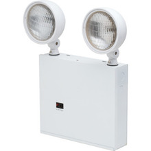 NYC Approved 2-Light 6V 18W White Commercial Emergency Unit