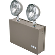 Chicago Approved 2-Light 6V 24W Commercial Emergency Unit
