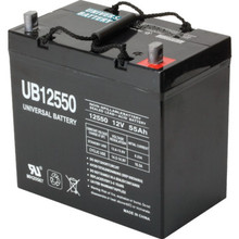 12V 55Ah Lead Acid Medical Mobility Battery