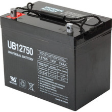 12V 75Ah Lead Acid Medical Mobility and Security Gate Battery