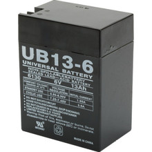 6V 13Ah Lead Acid Emergency Battery