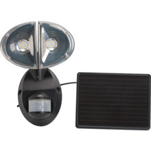 LED Solar Flood With Motion Sensor