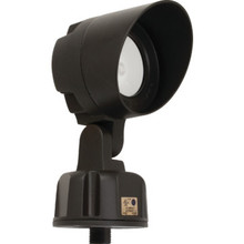 11W 3000K LED Bronze Bullet Flood Light