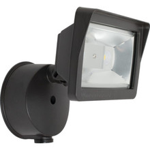 18W 4000K LED Bronze Flood Light With Photocell