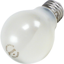 A Bulb Philips 75W A19 Frost Rough Service 12pk