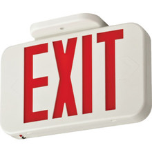 Economy Red LED Exit Sign
