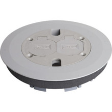 Non-Metallic Hinged Duplex Cover With Flange