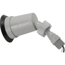 Bulb Holder Swivel Plastic Gray