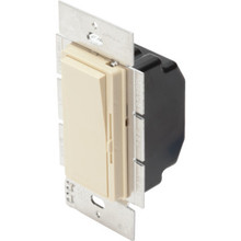 Diva CFL/LED Dimmer - 150 Watt CFL/LED Or 600 Watt 1 Pole/3-Way - Ivory