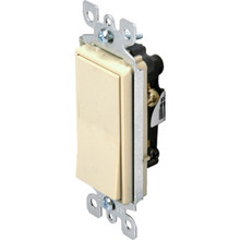 15 Amp 3-Way Decorator Wall Switch White