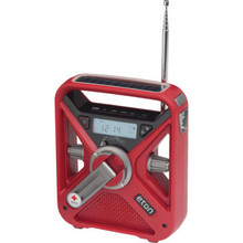 Emergency Preparedness Radio - Hand Crank and Solar Powered - Digital Radio