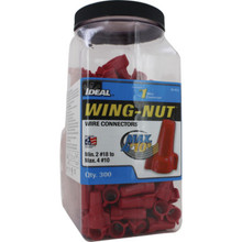452 Red Wing-Nut 300 Count Jar