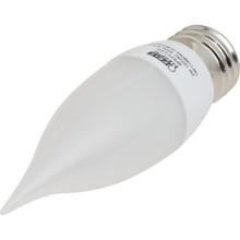 LED Bulb Feit 2W Flame (25W Equivalent) 3000K Frost