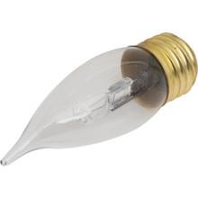 Halogen Bulb Value Light 40W Flame Medium Base Clear 48/Pk
