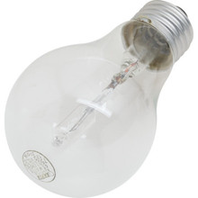 Halogen Bulb Value Light 43W A19 Medium Base Clear 24/Pk