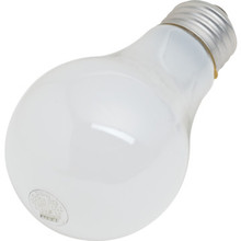 Halogen Bulb Value Light 72W A19 Medium Base White 24/Pk