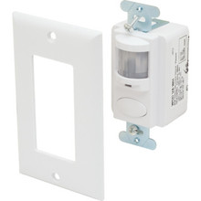 Passive Infrared Ivory Wall Switch Vacancy Sensor