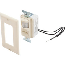 Passive Infrared Ivory Wall Switch Occupany Sensor