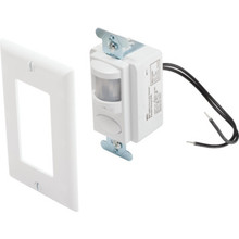 Passive Infrared White Wall Switch Occupany Sensor